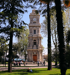 watch tower (OnurAcar87) Tags: life trip travel blue trees vacation sky people sun green tower history love nature topf25 colors museum canon landscape fun photography photo spring topf50 topf75 europe live topv1111 watch istanbul topf100 topf111 650d