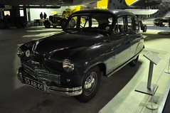 Standard Vanguard staff car (Richard.Crockett 64) Tags: london car standard raf vanguard militaryvehicle hendon royalairforce royalairforcemuseum staffcar bomberhall