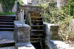 Wasserrad hinter der Kilianikirche - Hxter 01 (Stefan_68) Tags: monument germany deutschland monumento nrw nordrheinwestfalen waterwheel wasserrad northrhinewestphalia hxter
