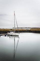 130 - Tranquillity (li Mr) Tags: sailboat marina iceland pad kopavogur capitalregion nikond7000 sigma1770f284osmacrohsm pad2013365 dagskot