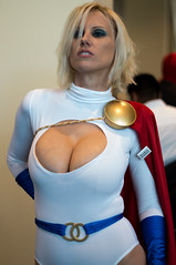 Power Girl Is Not Impressed (YorkInTheBox) Tags: comics cosplay dccomics powergirl 2013 longbeachcomicexpo