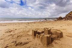 Sandcastle (Martin on Flickr) Tags: sea holiday beach coast seaside sand cornwall sandcastle sigma1020mmexdchsm canoneos60d