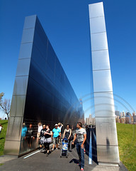 EMPTY SKY 9/11 Memorial, Liberty State Park, New Jersey (jag9889) Tags: park sky sculpture tower monument freedom office site newjersey construction memorial jerseycity empty worldtradecenter 911 nj terrorist twintowers wtc attacks libertystatepark lsp hudsoncounty 1wtc emptysky911memorial