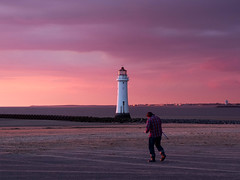 Perch Rock Lighthouse (*Richard Cooper *) Tags: new rock brighton perch fujifilm wallasey wirral x10