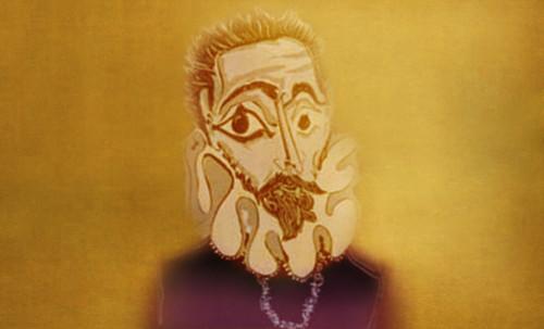 """Hidalgo Ibérico, expresión de Doménikus Theokópoulos el Greco (1597), transcripción de Pablo Picasso (1971). • <a style=""""font-size:0.8em;"""" href=""""http://www.flickr.com/photos/30735181@N00/8746814163/"""" target=""""_blank"""">View on Flickr</a>"""