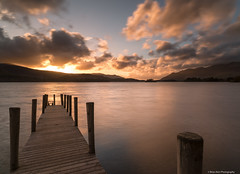 Evening Light (.Brian Kerr Photography.) Tags: light sunset sky clouds reflections availablelight jetty lakes lakedistrict cumbria derwentwater keswick ze cumbrian canon6d distagont2821 ashnessjetty
