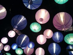 Day 2 - Lanterns (Cris Ward) Tags: cameraphone uk windows light food color colour lamp mobile bar contrast paper bristol restaurant nokia lowlight phone drink britain eating pastel cellphone celebration smartphone shade dining lantern pocket foodanddrink 920 wp8 lumia pureview windowsphone8 lumia920