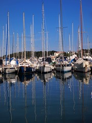 Rovinj - harbour (Suzie Maitland) Tags: croatia olympuspen rovinj istria epl1 microfourthirds mzuiko olympusepl1