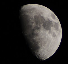 Waxing Gibbous #Luna 19/05/13 (Spicey_Spiney) Tags: canon1100d