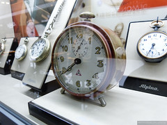 Alpina Historical Mechanical Alarm Clock (Alpina Watches) Tags: alarm alpina historic wakeup pocketwatch sveglia pocketwatches baselwatchfair alpinawatches baselworld2013