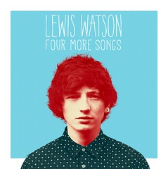 Lewis Watson - Four More Songs (GRAPHICS DESIGNED) Tags: blue red music white art design artwork graphic border lewis direction warner cover watson ep