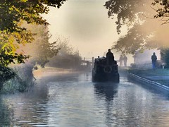 Early morning Hurleston (velton) Tags: uk wales canal shropshire lock union wharf gb phantom navigation narrowboat llangollen narrowboats ellesmere norbury