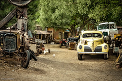 Jerome's Junk Yard (xTexAnne - away for a while) Tags: arizona vintage antique jerome junkyard diannewhite