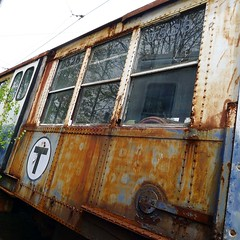T/Rust (brotherM) Tags: car boston train entropy subway t rust decay disrepair