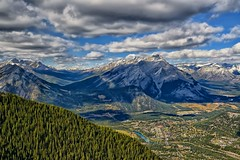 Beautiful Banff (Phil's Pixels) Tags: canada landscape explore alberta banff bowriver sulphurmountain cascademountain bowvalley