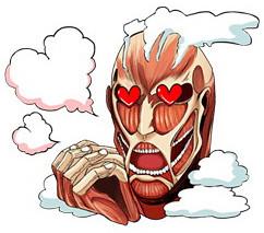 奇行種巨人哪有那麼可愛?日本LINE 推出【進擊的巨人】貼圖