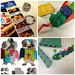 recycled images, junk mail Jewellery, egg box creatures