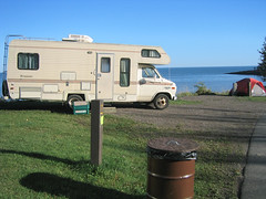 Burlington Bay Campground site