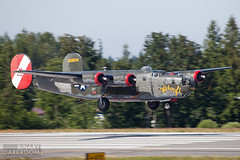 "Collings Foundation B-24J ""Witchcraft"" (Liembo) Tags: liberator b24 collings pae kpae b24j"