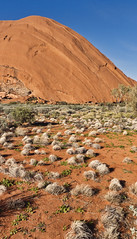 Uluru Base Walk (Fear_Through_The_Eyes) Tags: travel plants colour landscape nationalpark walk australia vegetation outback uluru northernterritory ayersrock