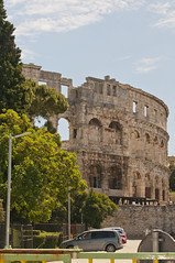 Amphitheater (Coedy453) Tags: old rome ancient bc roman croatia amphitheater pula gladiators