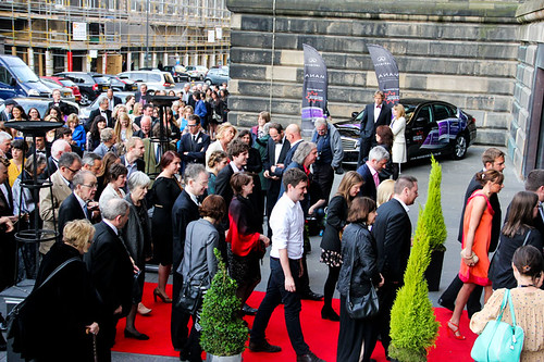 Guests attending the opening night party of the 67th Edinburgh International Film Festival