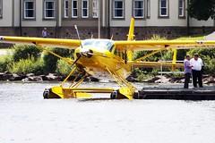 G-MDJE (markyharky) Tags: yellow aircraft amphibian cuttysark caravan lochlomond seaplane cessna 208 i lochlomondseaplanes gmdje thespiritofadventure cessna208caravani