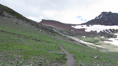 movie: approaching Red Gap Pass (jcoutside) Tags: montana backpacking glaciernationalpark