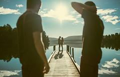 Estem esperant (Ibai Acevedo) Tags: new sky lake water lago zealand cielo nz present wait passat futur tiempo esperant benvolgut