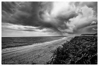 Sky, sea, sand & rain