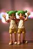Twins :) (Pasc_Lightyear) Tags: summer vacation anime 50mm twins bokeh sony manga inside dslr yotsuba danbo revoltech