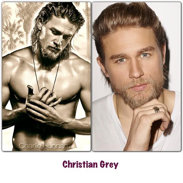 Charlie Hunnam to play Christian Grey ❤❤#fiftyshadesofgrey #InstaFrame #pwede