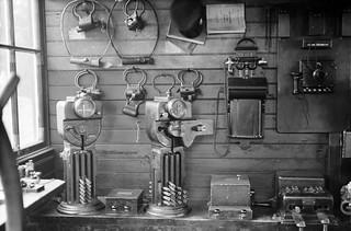 Instruments at Clonsilla, Co. Dublin...