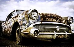 Old Car (photographyguy) Tags: louisiana plaindealing car rust vintage flattire automobile buick roadmaster classiccar