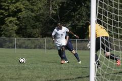 Osae3 (westminster.college) Tags: men sports field goal athletics kick soccer score titans menssoccer 2013 davidosae