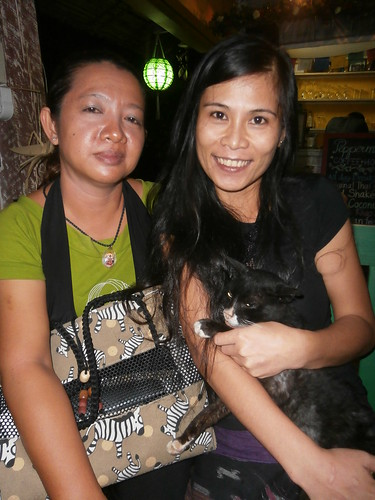 "Ladies at ""Peppermint Cafe"" Soi 5 Rachadamnoen Rd. Chiangmai Thailand"