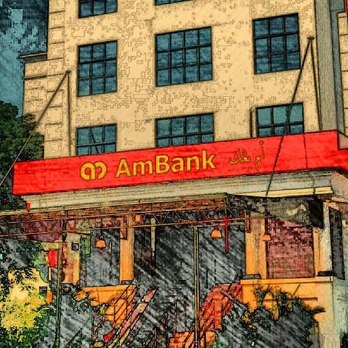 Singgah sekejap. :-)   #ambank #kotabharu #kelantan #balikkampung