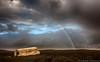 DC-3 @ Sólheimasandur (Kristinn R.) Tags: sky beach clouds blacksand iceland rainbow nikon wreck dc3 d3x sólheimasandur nikonphotography kristinnr