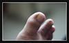 My toes, bokeh test. (Nor Salman) Tags: toes bokeh sharpeness nikkor50mm14ai nex7