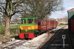 """Beaudesert"" (1) (Banchango) Tags: 2009 steamrailway narrowgaugerailways heritagerailway alankeef leightonbuzzardnarrowgaugerailway narrowgaugediesel nameddiesellocomotives"