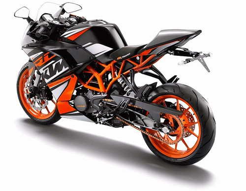 KTM RC 125 Not Sold In India And Wont Be Launched Here Either The Duke 125s Full Faired Version Will A Strong Proposition For