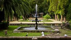 Fuente en Parque de María Luisa