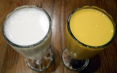 187/365:  Two Glasses of Lassi (MountainEagleCrafter) Tags: two glasses pair drinks indianrestaurant day187 ethnicfood swapna 7613 apicaday 187365 shootfirstaskquestionslater day187365 3652013 2013yip 365the2013edition pad2013365 2013internationalbeauty 07062013 06jul13 twobeverages