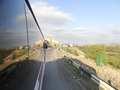On the road in Karabakh