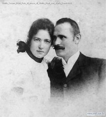 Giulio Cesare Prati Foto di nozze di Giulio Prati con Maria Conci-1898