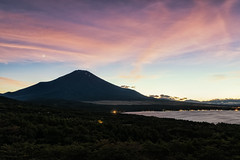 Mt. Fuji at Dusk
