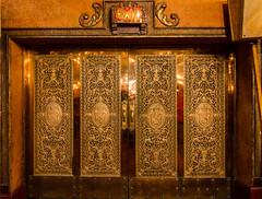 State Theatre bronze doors (nikabuz) Tags: longexposure architecture buildings interior tripod gothic sydney australia nsw artdeco statetheatre historicalbuilding c1929 tokina1116mmlens sydneyarchitecturefestival nikond7000 victorzubakin nikabuz sydneyopen2012