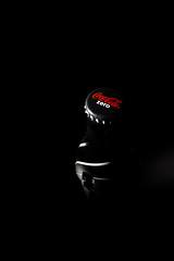 Gloom Thirsty (mikkowaeder) Tags: dark movie darkness advertisement cocacola product lowkey zero 007 jamesbond