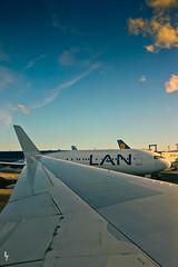 Vete. (Soliloquiaa) Tags: trip travel viaje sky azul clouds airplane airport angle wide adventure cielo nubes foreign aeropuerto avion