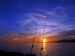 Puesta de sol en la costa (Antonio Chacon) Tags: sunset españa atardecer mar spain europe andalucia puestadesol málaga marbella potd:country=es
